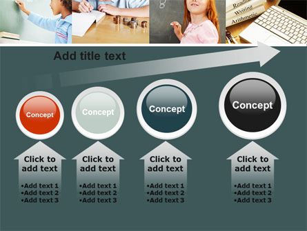 Lesson In Math PowerPoint Template Slide 13