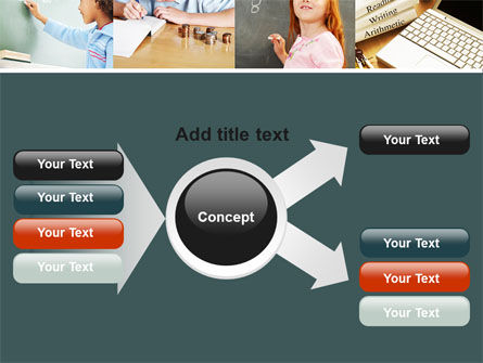 Lesson In Math PowerPoint Template Slide 14