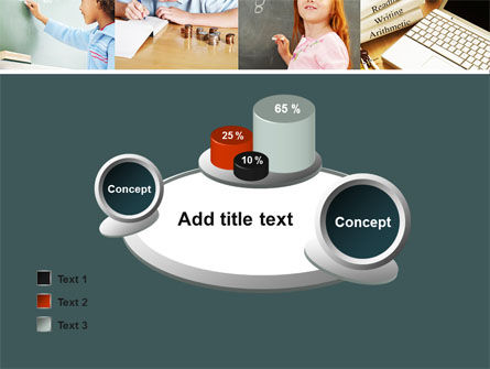 Lesson In Math PowerPoint Template Slide 16