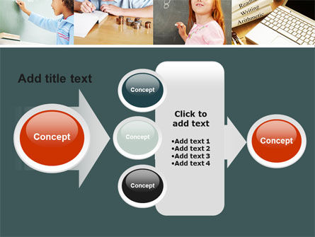 Lesson In Math PowerPoint Template Slide 17