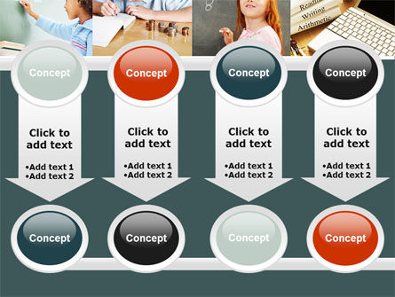 Lesson In Math PowerPoint Template Slide 18