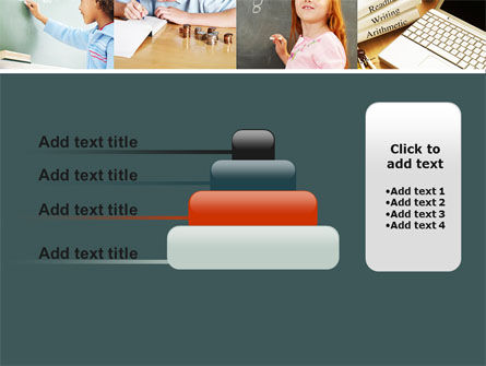 Lesson In Math PowerPoint Template Slide 8