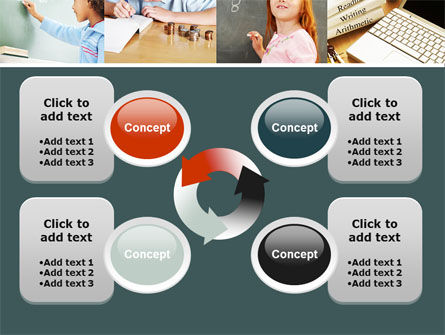 Lesson In Math PowerPoint Template Slide 9