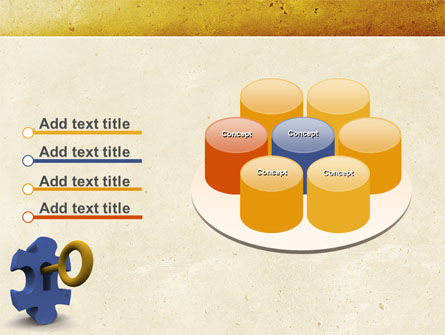 Key Puzzle PowerPoint Template Slide 12