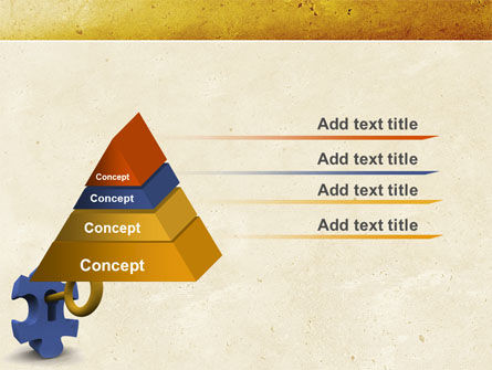 Key Puzzle PowerPoint Template Slide 4