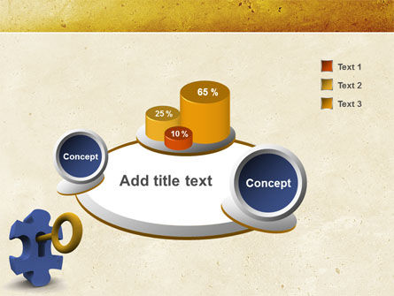Key Puzzle PowerPoint Template Slide 6