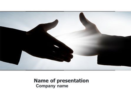 Contact PowerPoint Template, 04709, Business — PoweredTemplate.com