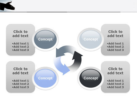 Contact PowerPoint Template Slide 9