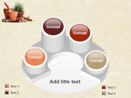 Pot Flowers PowerPoint Template Slide 12