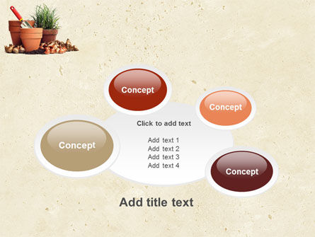 Pot Flowers PowerPoint Template Slide 16