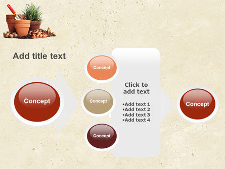 Pot Flowers PowerPoint Template Slide 17