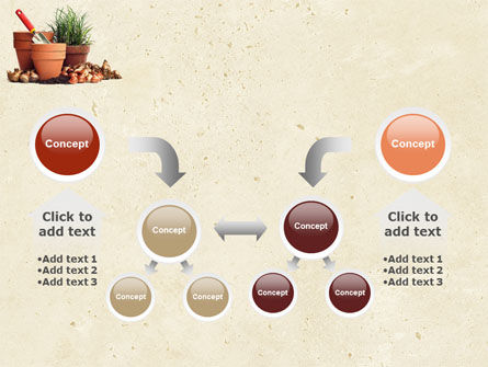 Pot Flowers PowerPoint Template Slide 19