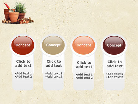 Pot Flowers PowerPoint Template Slide 5