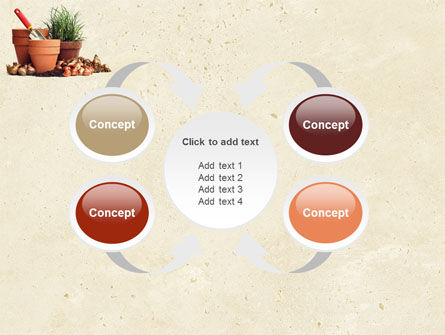 Pot Flowers PowerPoint Template Slide 6