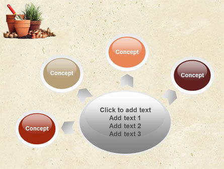 Pot Flowers PowerPoint Template Slide 7