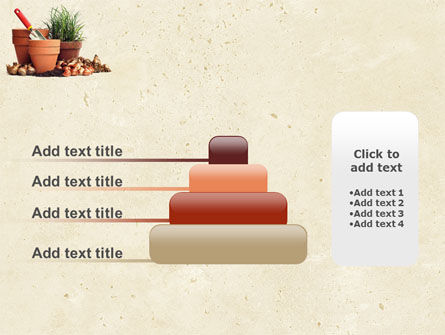 Pot Flowers PowerPoint Template Slide 8
