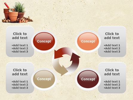 Pot Flowers PowerPoint Template Slide 9