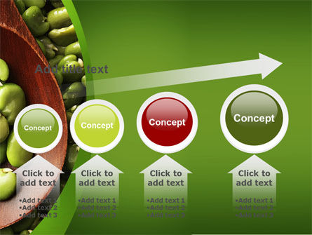 Broad Beans PowerPoint Template Slide 13