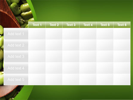 Broad Beans PowerPoint Template Slide 15