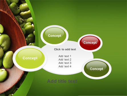 Broad Beans PowerPoint Template Slide 16