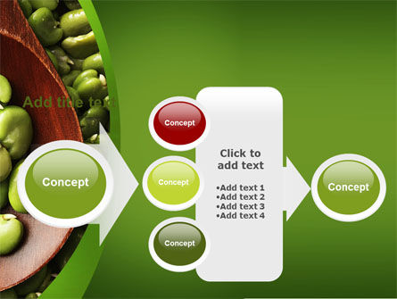 Broad Beans PowerPoint Template Slide 17