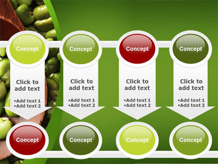 Broad Beans PowerPoint Template Slide 18