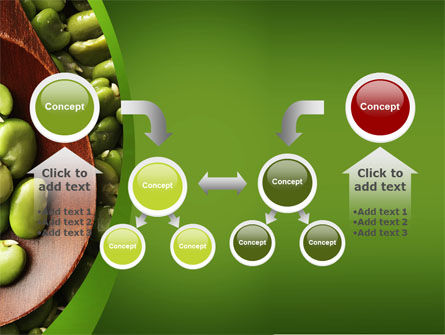 Broad Beans PowerPoint Template Slide 19
