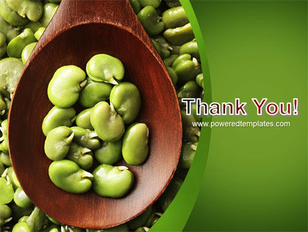 Broad Beans PowerPoint Template Slide 20