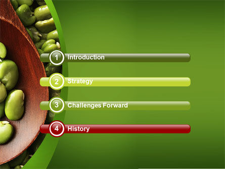 Broad Beans PowerPoint Template, Slide 3, 04711, Food & Beverage — PoweredTemplate.com