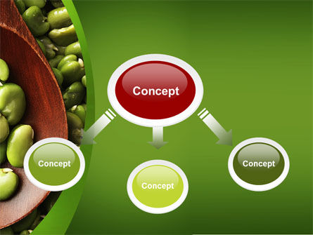 Broad Beans PowerPoint Template, Slide 4, 04711, Food & Beverage — PoweredTemplate.com