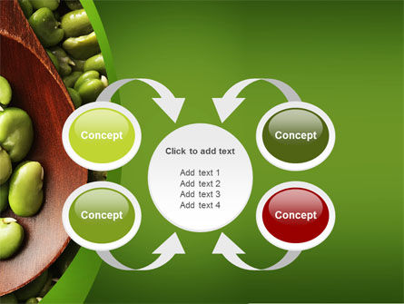 Broad Beans PowerPoint Template Slide 6