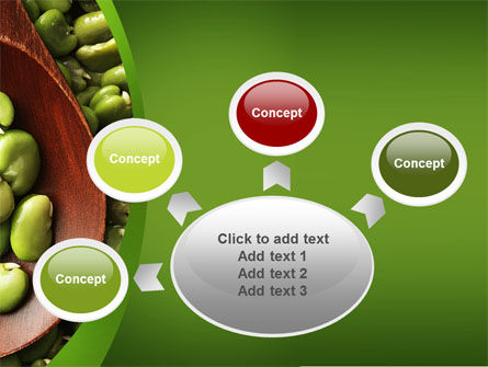 Broad Beans PowerPoint Template Slide 7