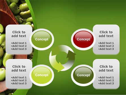 Broad Beans PowerPoint Template Slide 9
