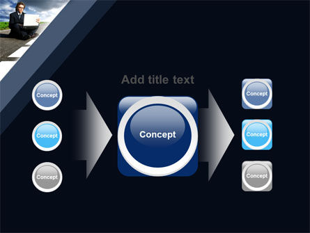 On the Way PowerPoint Template Slide 17
