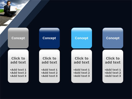 On the Way PowerPoint Template Slide 5
