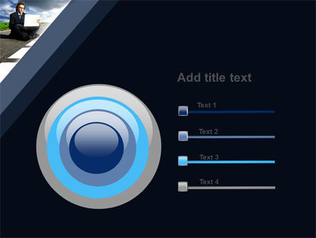 On the Way PowerPoint Template Slide 9