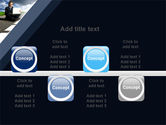 On the Way PowerPoint Template#19