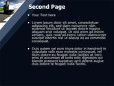 On the Way PowerPoint Template#2