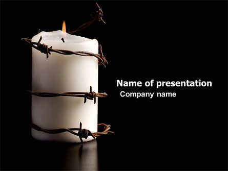 Religious/Spiritual: Commemoration PowerPoint Template #04716