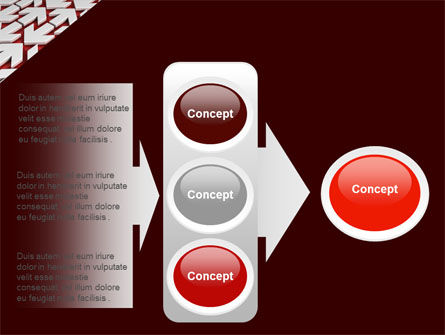 Contrary Direction PowerPoint Template Slide 11