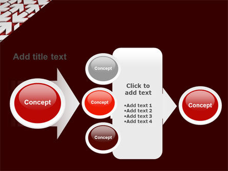 Contrary Direction PowerPoint Template Slide 17