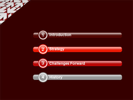Contrary Direction PowerPoint Template, Slide 3, 04719, Business Concepts — PoweredTemplate.com