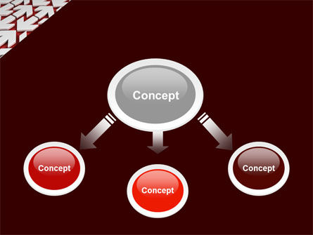 Contrary Direction PowerPoint Template, Slide 4, 04719, Business Concepts — PoweredTemplate.com