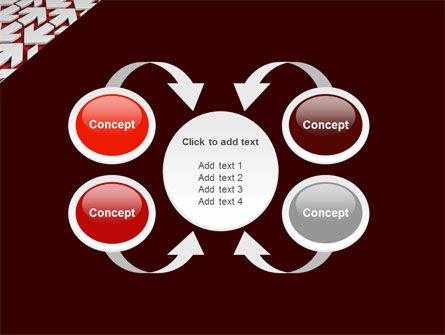 Contrary Direction PowerPoint Template Slide 6