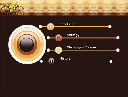 Bicycle PowerPoint Template Slide 3