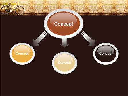 Bicycle PowerPoint Template Slide 4