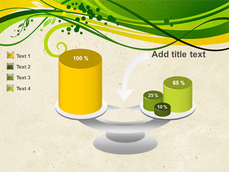 Green Sprouts PowerPoint Template Slide 10