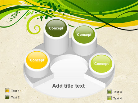 Green Sprouts PowerPoint Template Slide 12
