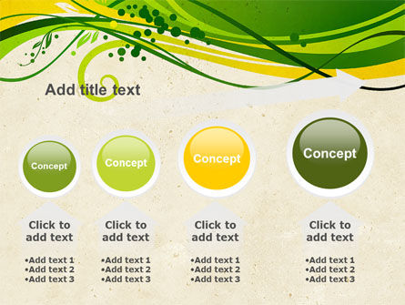 Green Sprouts PowerPoint Template Slide 13