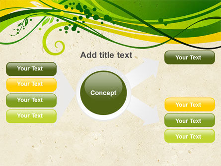 Green Sprouts PowerPoint Template Slide 14